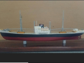 1:700 scale model Gabonkust in White Natural Versatile Plastic