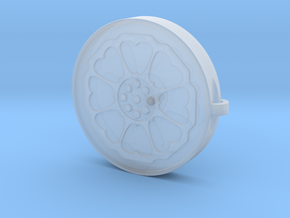 Lotus Tile With Keychain Model in Smooth Fine Detail Plastic