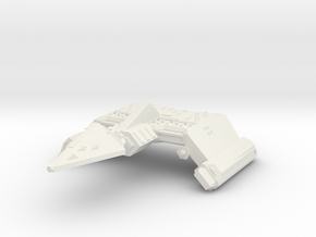 3788 Scale Neo-Tholian Battleship Carrier SRZ in White Natural Versatile Plastic