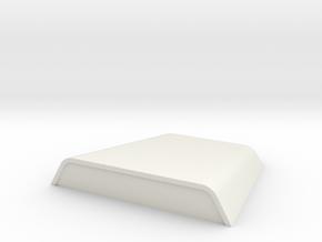 JaBird RC Hood Scoop - V0 in White Natural Versatile Plastic