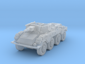 Sdkfz 234-3 1/200 in Smooth Fine Detail Plastic