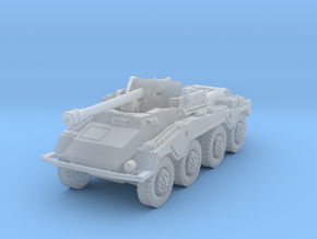 Sdkfz 234-4 1/220 in Smooth Fine Detail Plastic