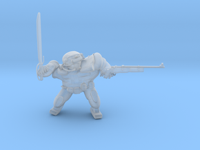 FallOut Fighter ShotgunSword in Smoothest Fine Detail Plastic