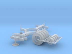 radar Fan song E 1/87 - undercarriage  in Smooth Fine Detail Plastic