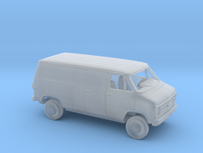 1-87 1979-83 Chevy G Deliv. Split Side and Rear D. in Smooth Fine Detail Plastic