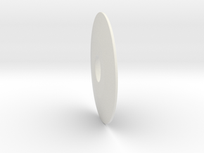 Pinball - Pooling Post Standoff 1mm in White Natural Versatile Plastic