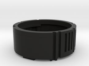 Metal Master Speaker Chamber (18650) in Black Natural Versatile Plastic