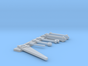 HO Scale tool rack in Smoothest Fine Detail Plastic
