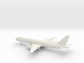 Boeing 757-200 in White Natural Versatile Plastic: 1:200