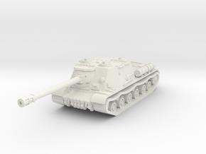 ISU-122 S 1/76 in White Natural Versatile Plastic