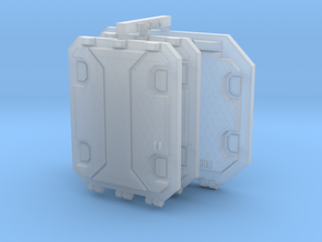 Repulsor Rear and Side Hatch extra armour SET 1 in Smoothest Fine Detail Plastic