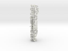 1/87 Philadelphia 2009 KME Ladder Tower in White Natural Versatile Plastic