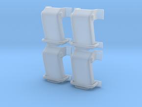1.7 POIGNEE DE TRAPPES HAUTES ECUREUIL in Smooth Fine Detail Plastic