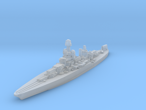 Colorado Battleship 1945 1/2400 in Smooth Fine Detail Plastic