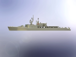 HMCS DDH 205 St.Laurent 1966 1/700  in Smooth Fine Detail Plastic