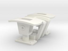 CFF Trichterkupplung für Lokomotiven in White Natural Versatile Plastic