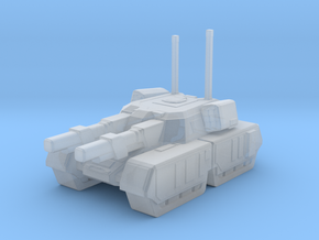 Mammoth tank in Smooth Fine Detail Plastic