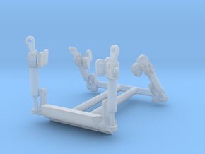 Latches in Smooth Fine Detail Plastic
