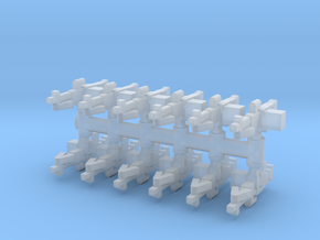 M60 MG (x12) 1/285 in Smooth Fine Detail Plastic