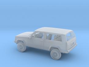 1-160 1984-96 Jeep Cherokee 2 Door Kit in Smooth Fine Detail Plastic