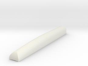 1/72 Scale EP-3 Short Dorsal Antenna in White Natural Versatile Plastic