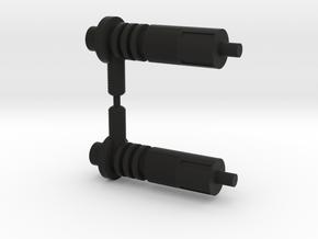 Acroyear Blaster in Black Natural Versatile Plastic: Medium