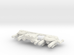 3125 Scale Seltorian Strike Carrier Group MGL in White Natural Versatile Plastic