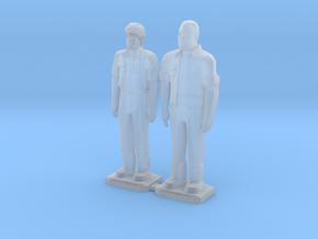 Transformer human friends in Smoothest Fine Detail Plastic
