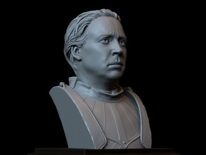 Brienne of Tarth from Game of Thrones in White Natural Versatile Plastic
