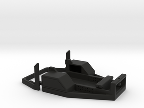 Axial SCX24  Flat Bed Conversion  in Black Natural Versatile Plastic