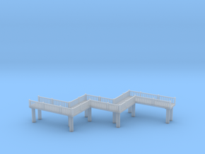 Crooked Bridge Zscale in Smooth Fine Detail Plastic