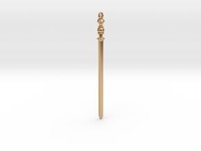 Assyrian Bronze Sword Pendent in Polished Bronze