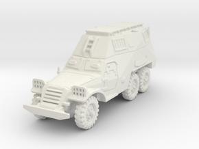 BTR-152 S 1/87 in White Natural Versatile Plastic