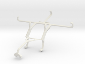 Controller mount for Xbox 360 & Realme Q in White Natural Versatile Plastic