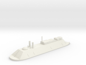 1/700 USS Essex (1862) in White Natural Versatile Plastic