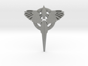 Magpie Pin (metal) in Gray PA12