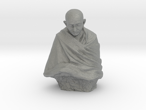 Gandhi by Claire Sheridan in Gray PA12: Medium
