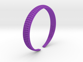 Voilà Cuff in Purple Strong & Flexible Polished: Medium