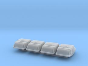 1/350 Space Dock Tug / Orbital Shuttle 4-Pack in Smooth Fine Detail Plastic