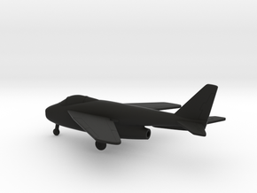 Bell X-5 in Black Natural Versatile Plastic: 1:160 - N