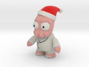 Zoidberg Christmas in Full Color Sandstone