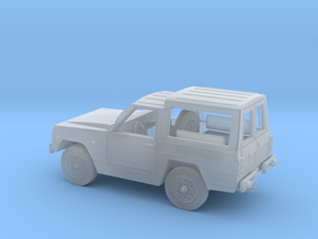 Nissa-Patrol-MC-4-H0-TECHO-RIG in Smooth Fine Detail Plastic