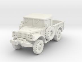 Dodge M37 (open) 1/76 in White Natural Versatile Plastic