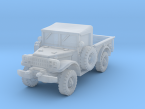 Dodge M37 (open) 1/144 in Smooth Fine Detail Plastic