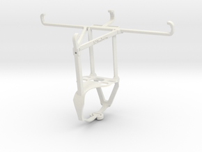 Controller mount for F710 & Realme Q - Top in White Natural Versatile Plastic