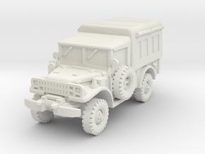 Dodge M42 1/76 in White Natural Versatile Plastic