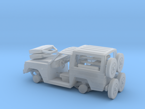 Nissa-Patrol-MC-4-H0-TECHO-RIG-PIE-proto-01 in Smooth Fine Detail Plastic