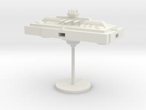 3-Modular-Long-Corridor in White Natural Versatile Plastic