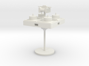 4-Modular-Radar in White Natural Versatile Plastic