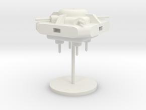 7-Module-Turret in White Natural Versatile Plastic